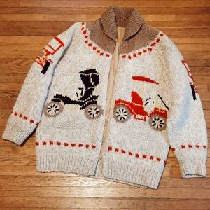 COZY Heavy Knit Vintage Cardigan